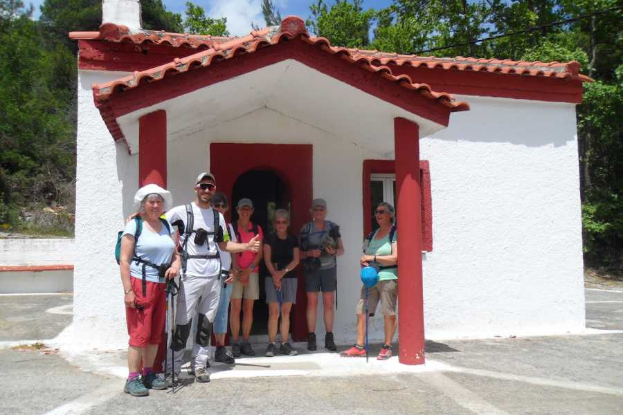 Evia Adventure Tours Trekking / Steni - Mountain refuge