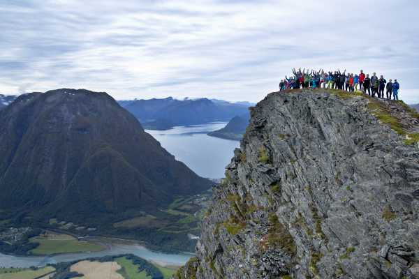 Hotel Aak Romsdalseggen Hike with Guide