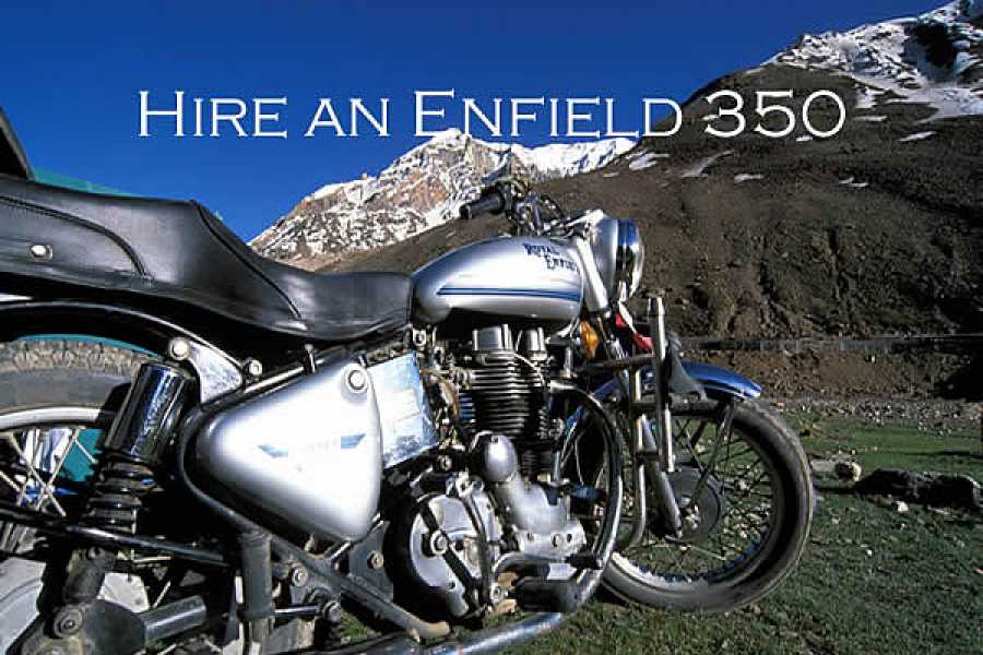 Last Second Group Ltd. PRENOTA una ENFIELD 350