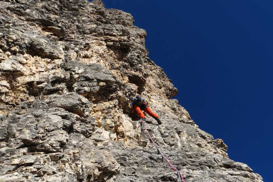 TRAVELSPORT Outdoor Activities CIMA PICCOLA DI LAVAREDO – NORMALE ROUTE