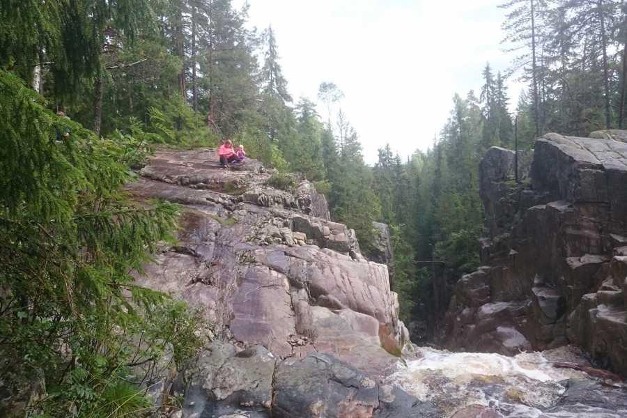 Finnskogen Adventures Juvvandring i Øksnafallet