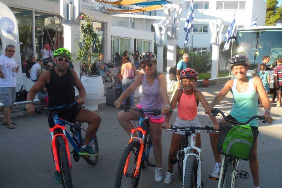 Evia Adventure Tours Family Cycling / Eretria