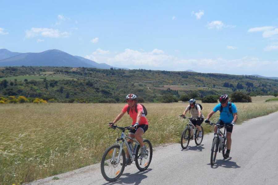 Evia Adventure Tours MTB / Riding the river of Steni