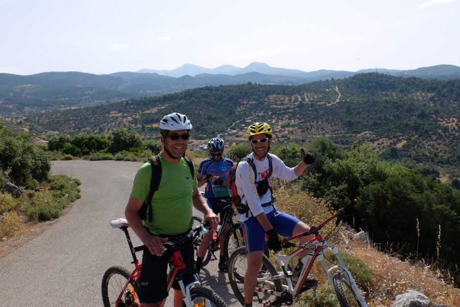 Evia Adventure Tours MTB / Visiting the two towers & Lykarios Castle