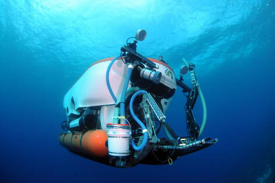 Coral divers Submarine Dive