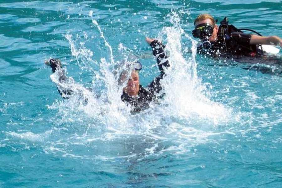 Coral divers Padi Rescue Diver