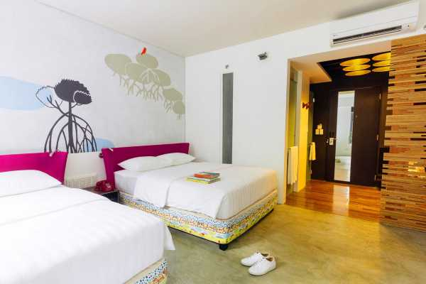WORLD HOLIDAY TRAVEL AND TOURS Puerto princesa 4d3n package with accom in canvas boutique