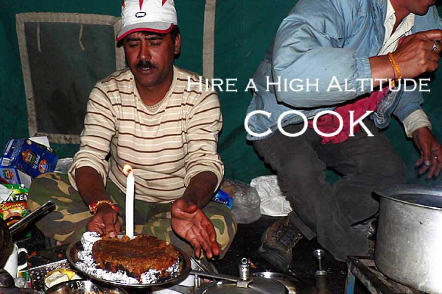 Last Second Group Ltd. Hire a HIGH ALTITUDE COOK