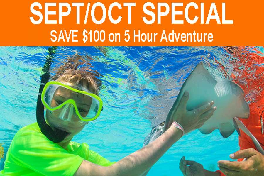 Crazy Crab SAVE $100 on a 5 Hour Adventure