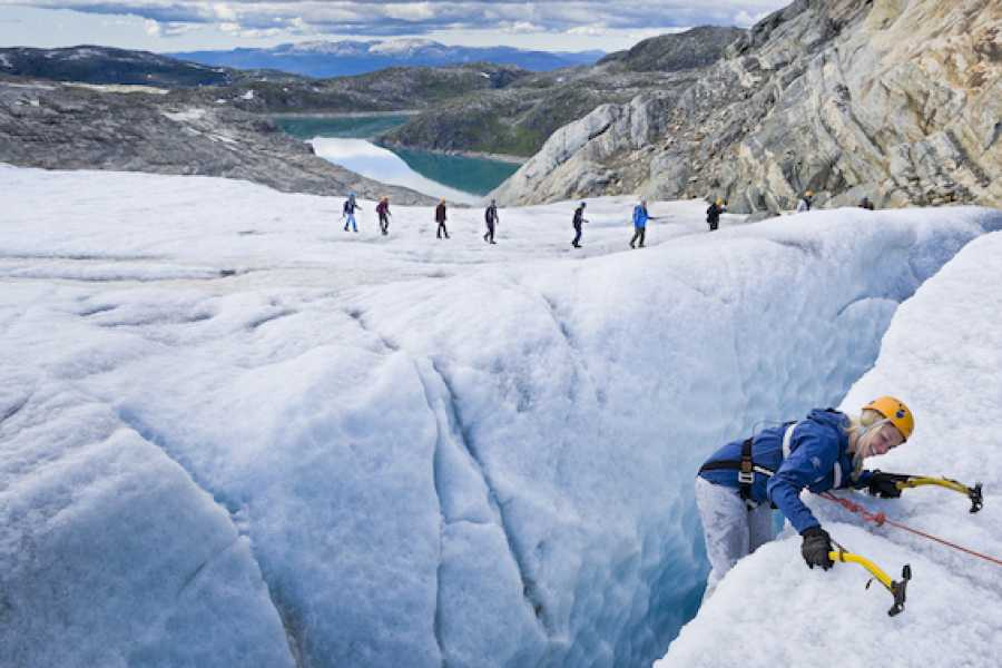 Norway Insight Guided Blue Ice Hike