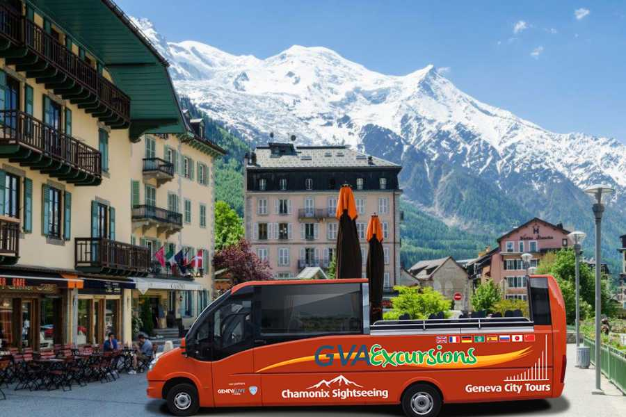 GVA Excursions Chamonix Day Trip with Open Top Bus