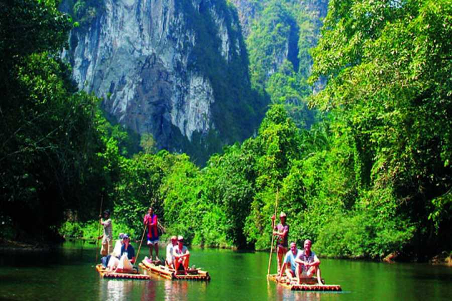 AMICI MIEI PHUKET TRAVEL AGENCY Khaosok Discovery- Canoe or bamboo zattera AM117-118