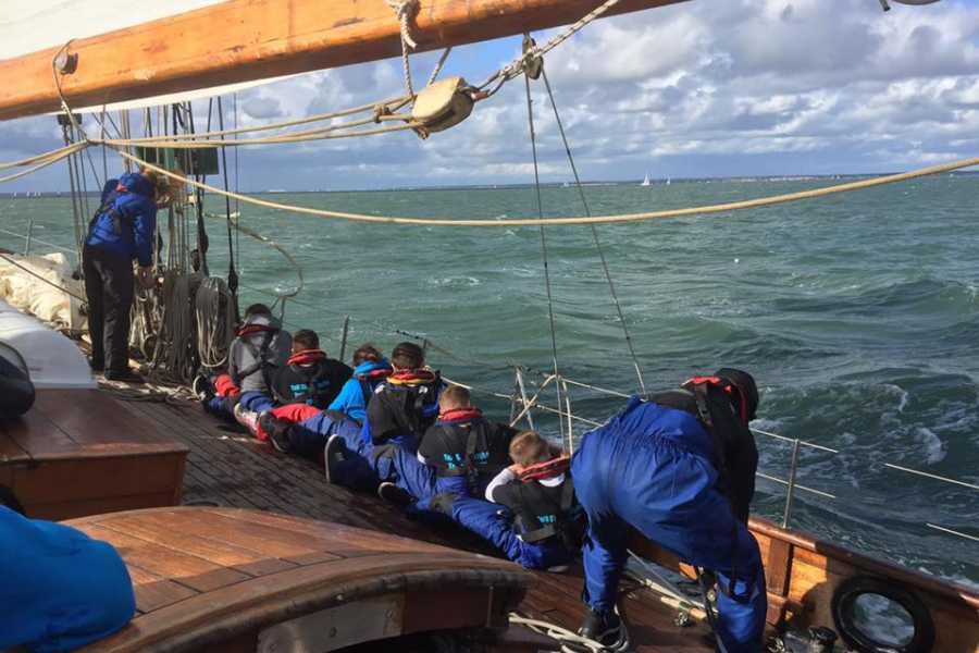 Maybe Sailing Cowes Small Ships Sail Training