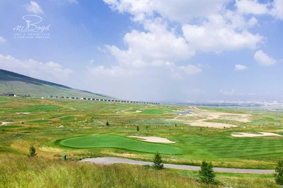 The Great Mongolian Adventures Mount Bogd Golf tour 3 Days / 2 rounds