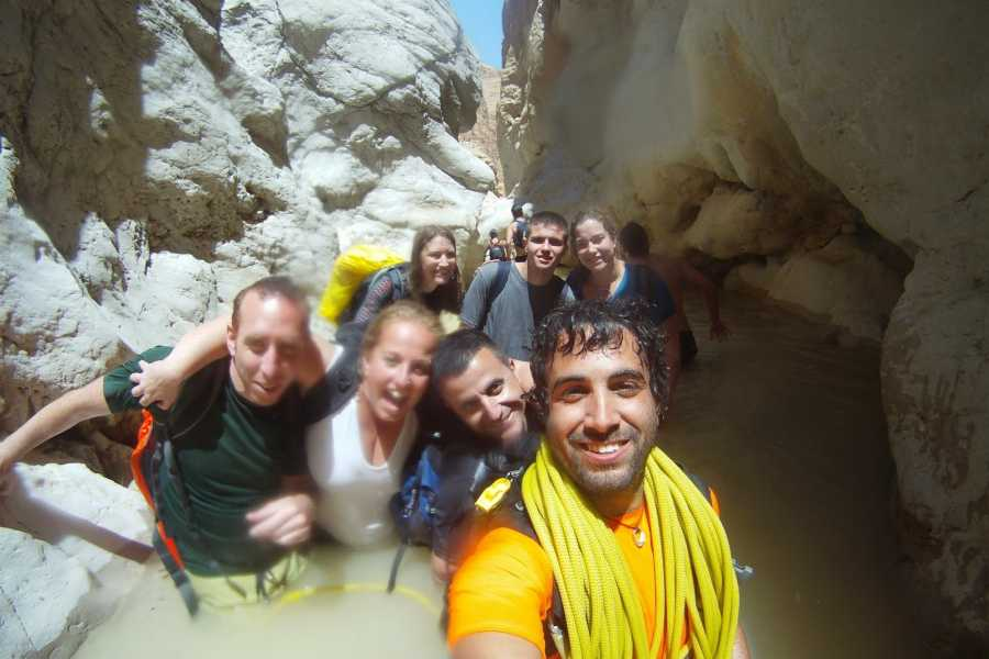 Wild-Trails Canyoning in Israel - Daraje Canyon