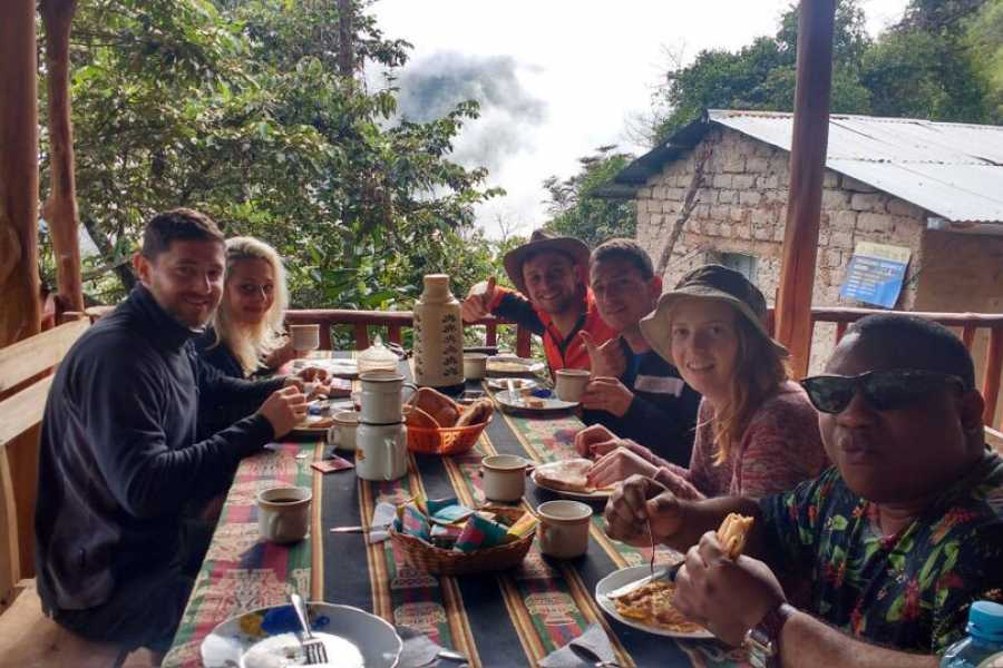 Conde Travel 4-Day Machu Picchu with Biking, Rafting, Ziplining from Cusco