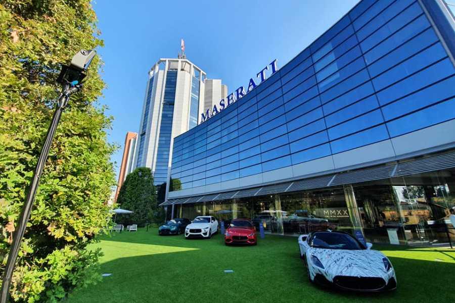Modenatur Maserati showroom tour gratuito in occasione del Festival Filosofia
