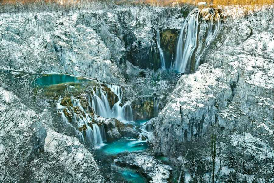 "Travel Agency"" South Tours"" Economy trip to NP Plitvice Lakes from Split or Trogir"