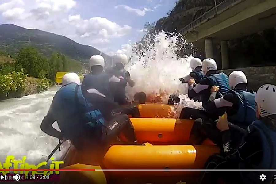Rafting.it SERVIZIO VIDEO PROFESSIONALE