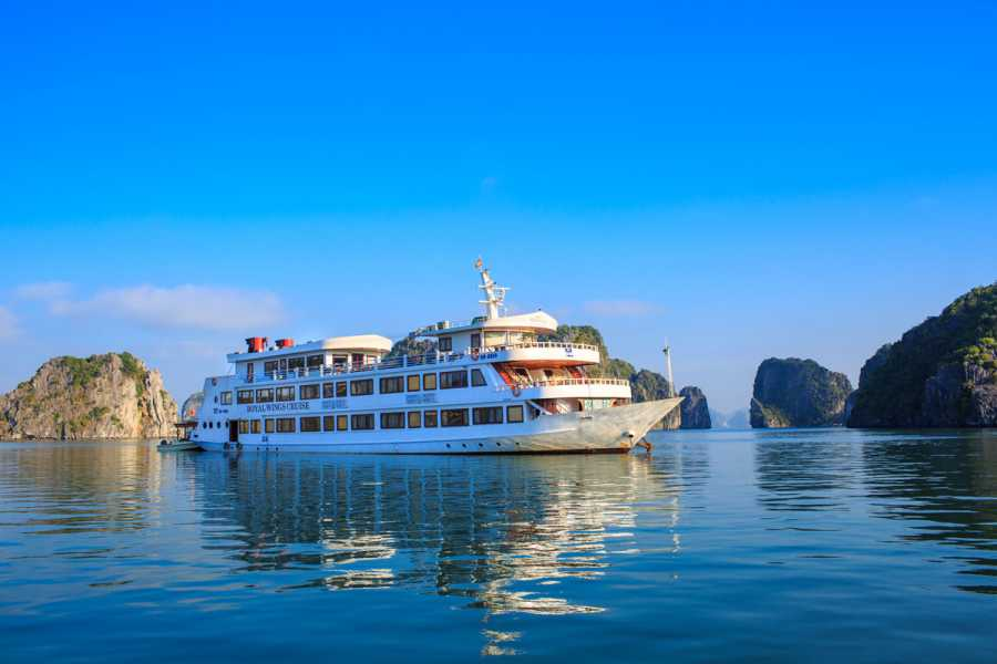 Vietnam 24h Tour Royal Wings Cruise 3D2N