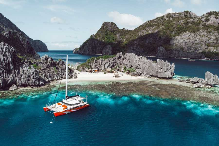 "Philippine Island Cruise Corp Private ""Seacret"" Catamaran Charter"