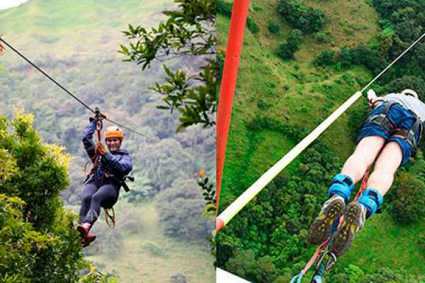 monteverde extremo Canopy & Bungee