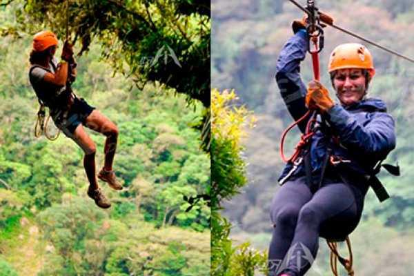 monteverde extremo Canopy & Tarzan Swing