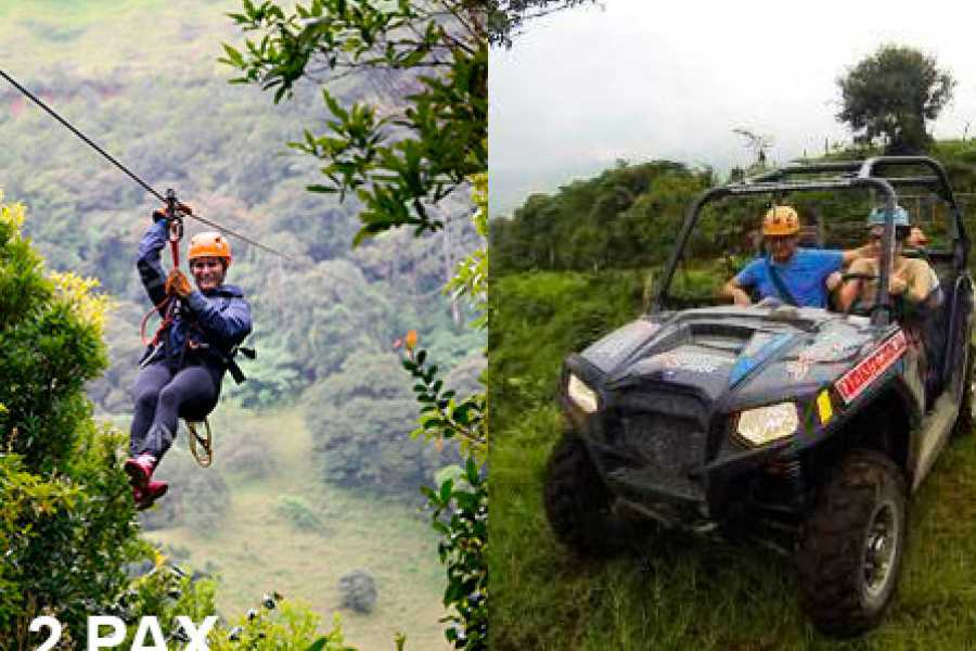 monteverde extremo Canopy & buggy 2 pax