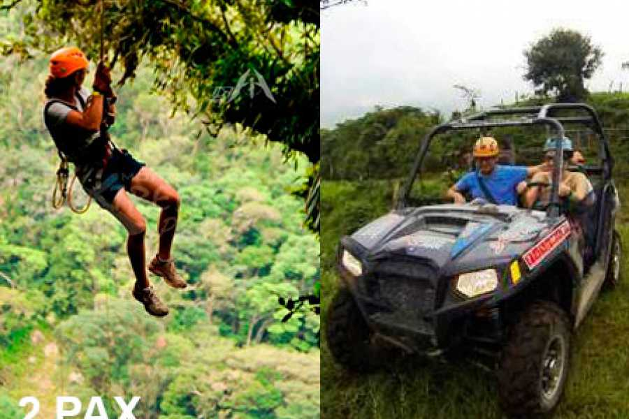 monteverde extremo Swing y Buggy 2 pax