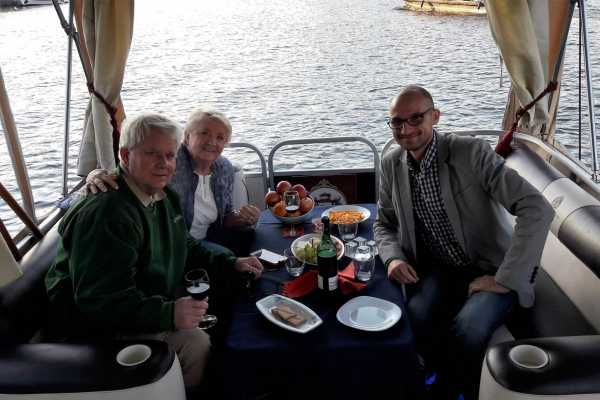 Wroclaw Sightseeing Tours Private wine tasting boat tour