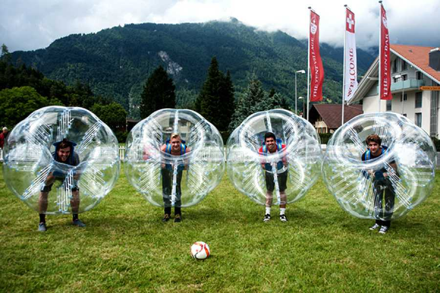 Balmers Tent Village Private Bubble Ball Tournament