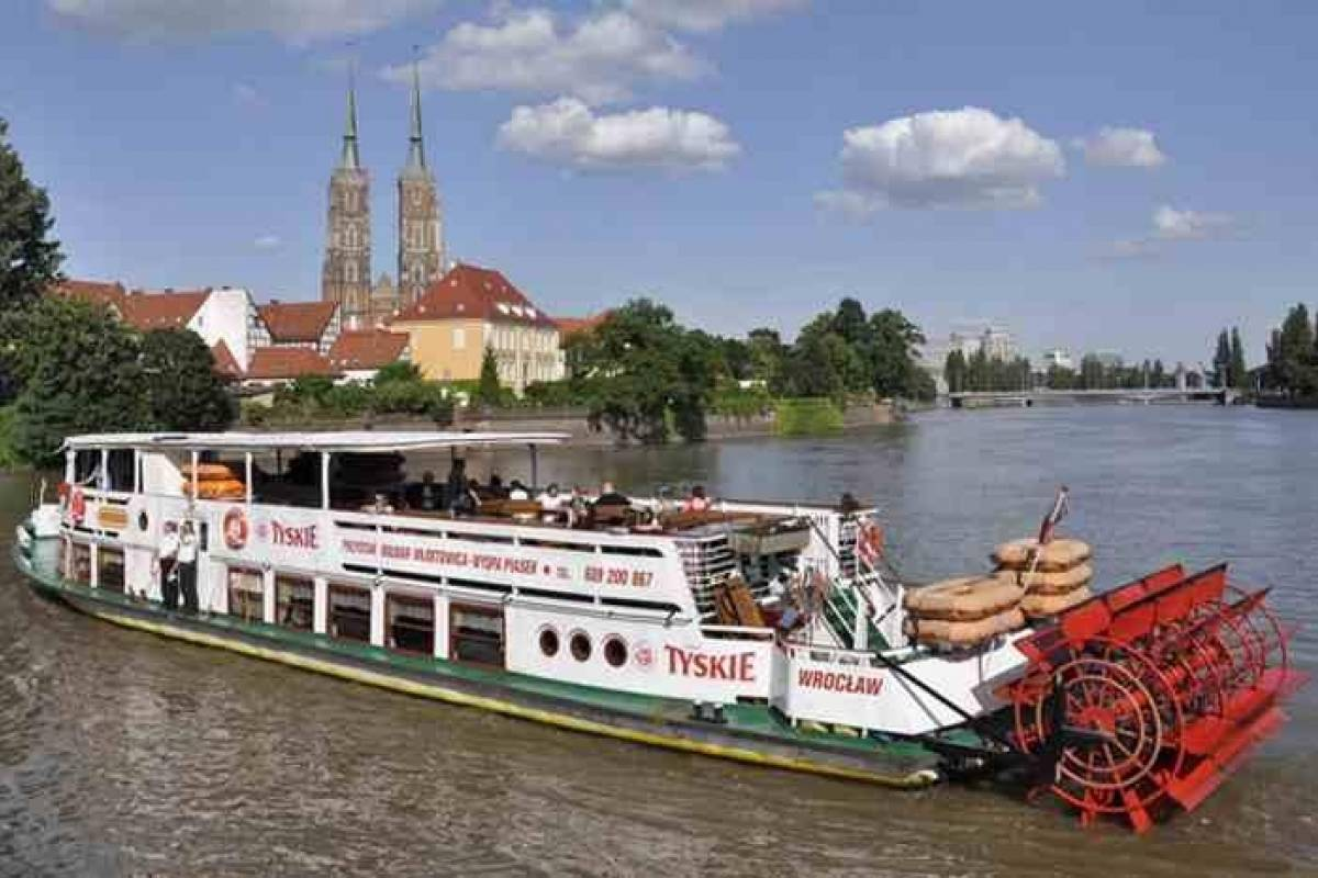 Wroclaw Sightseeing Tours Odra River Cruise