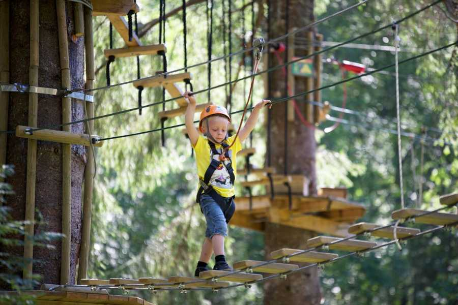 Norway Insight Family rafting and High Rope Course