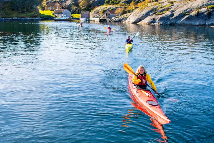Norsk Kystkulturakademi AS Rundtur Havpadling - 3 dager