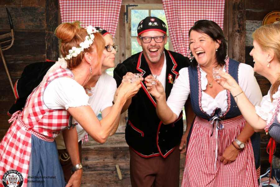 Heidi's Photo Chalet Swiss Happening - local beer, wine & food tasting with photo fun