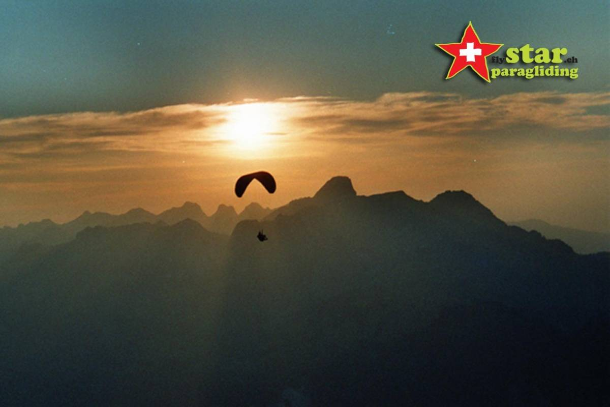 Star Paragliding, Switzerland 4 - THE SUNSET STAR