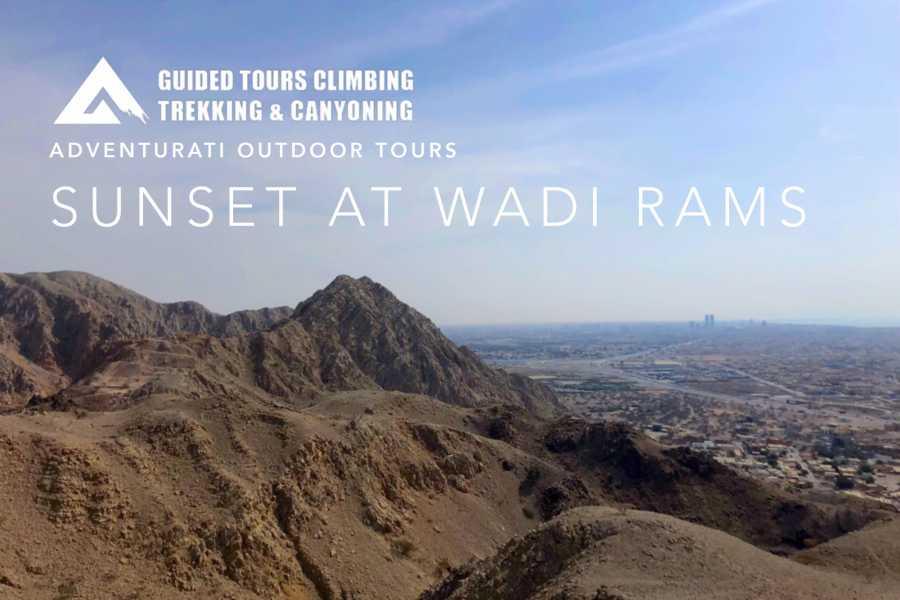 Adventurati Outdoors Sunset at Wadi Rams - UAE