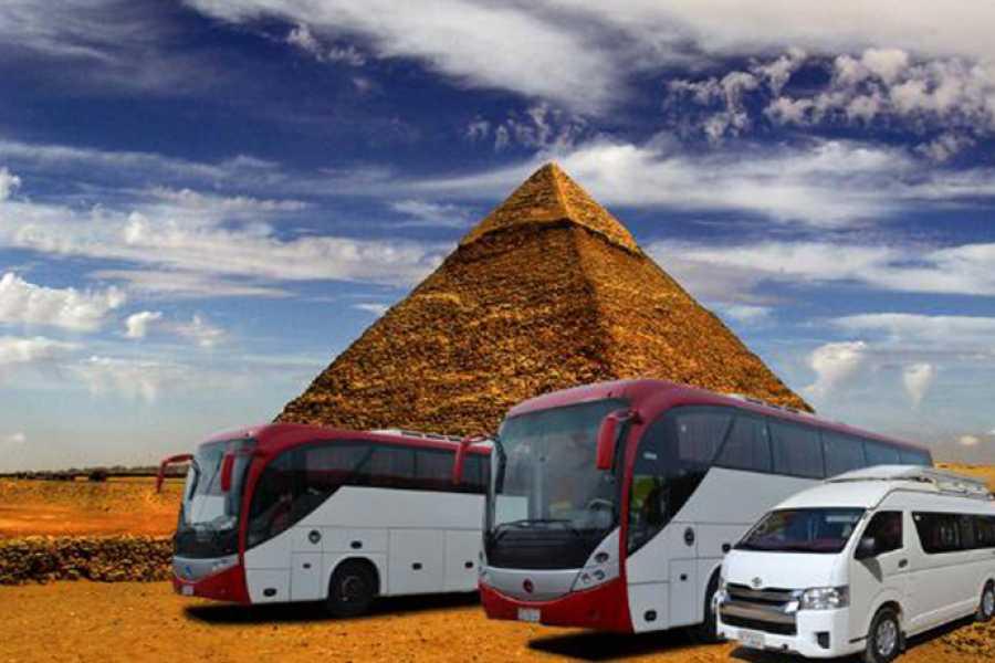 Excursies Egypte Transfert des hôtels Pyramids à l'aéroport du Caire