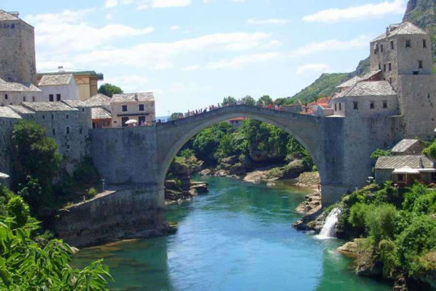 "Travel Agency"" South Tours"" Art, History & Culture Tour to Mostar and Počitelj from Split or Trogir"