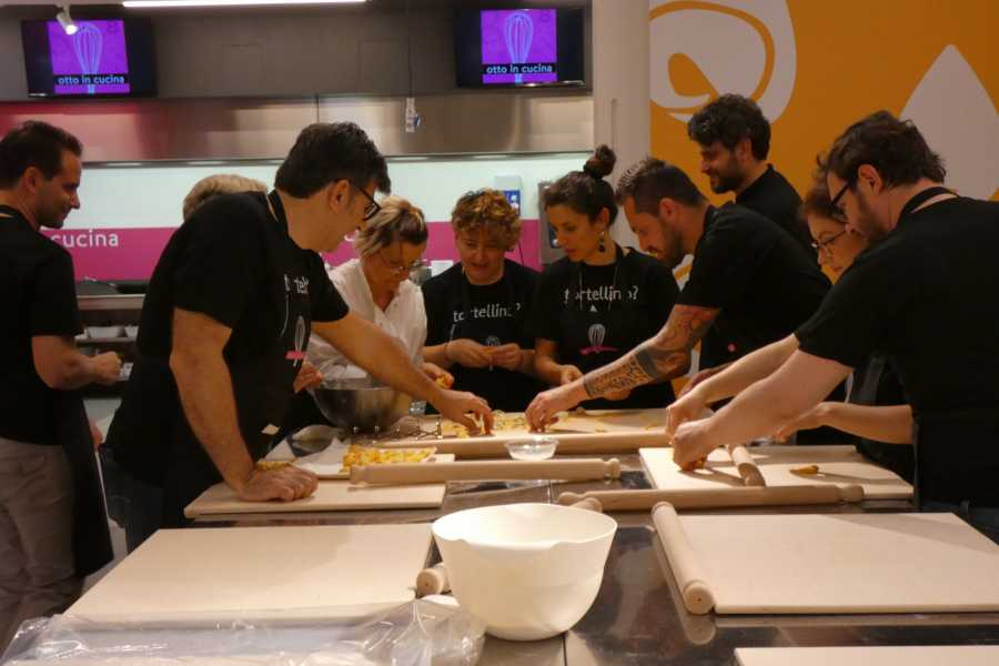 "Bologna Welcome Cooking class with traditional ""sfoglia"" with rolling pin"