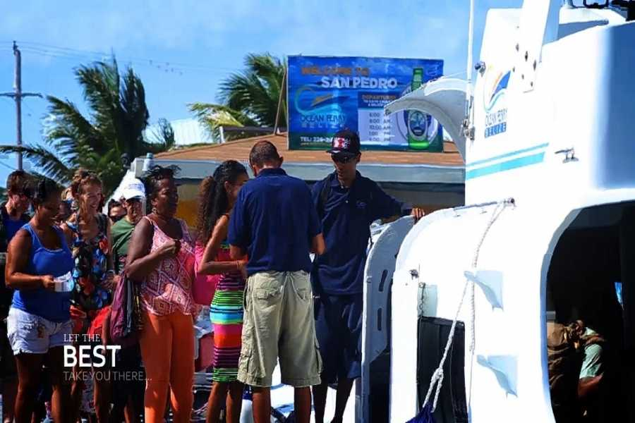Ocean Ferry Belize San Pedro to Belize City - One Way