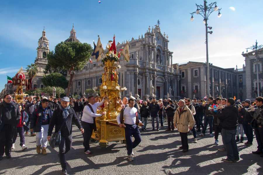Dimensione Sicilia Incoming Operator Tour Sicilia 5 Giorni Speciale Sant'Agata 2020
