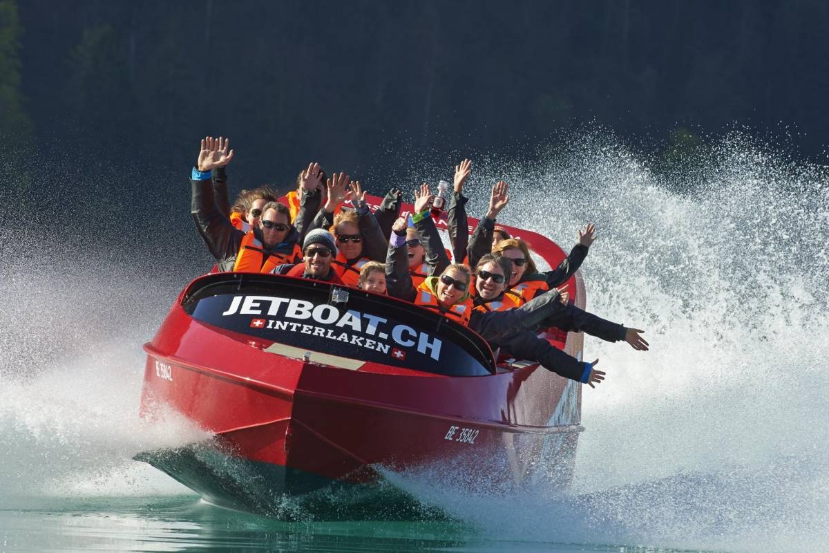 Jet Boat Interlaken Jet Boat Ride