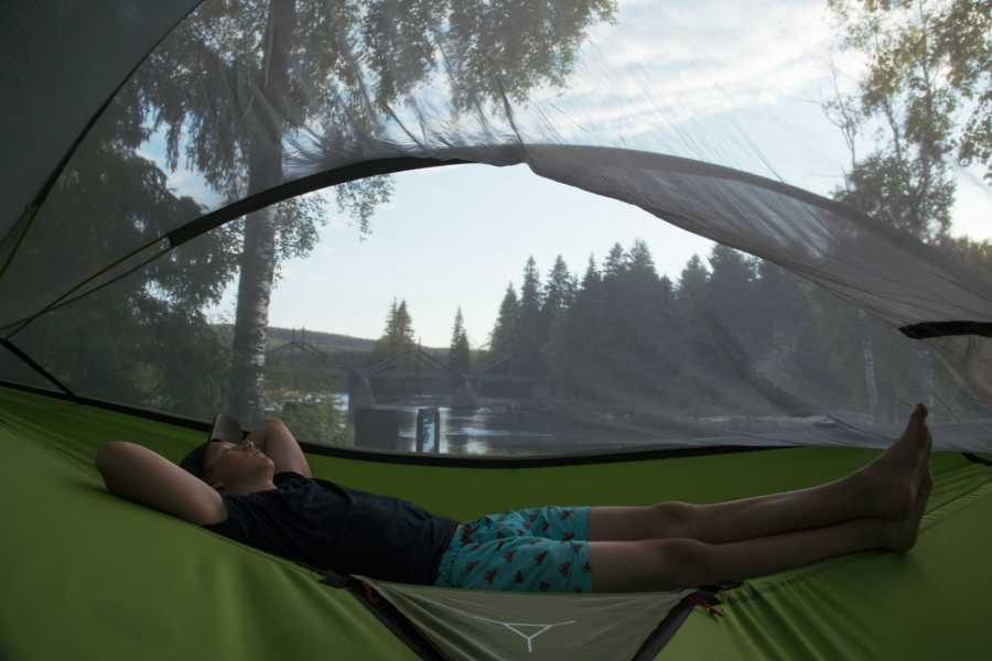 Finnskogen Adventures Overnatting i tretelt