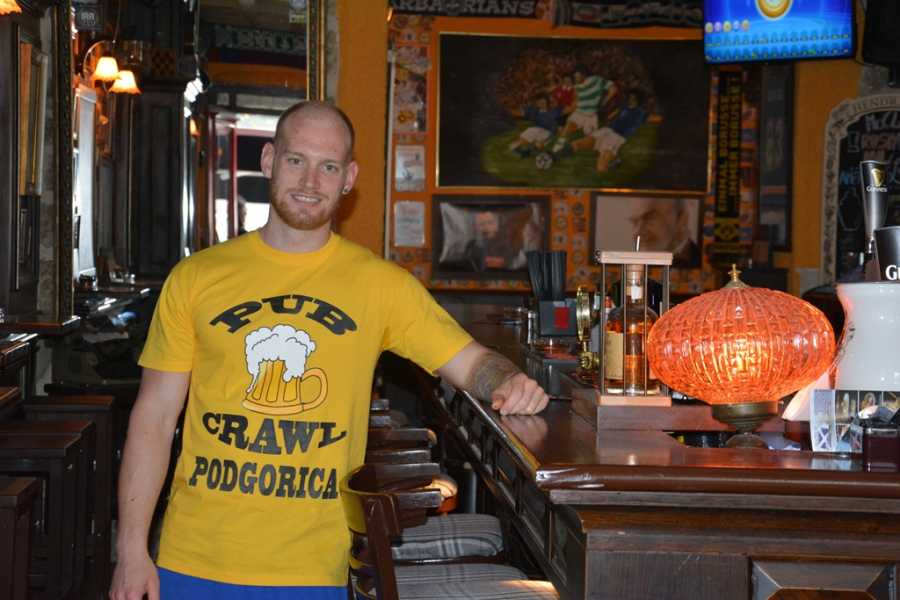 MH Travel Agency PODGORICA PUB CRAWL WITH MH TRAVEL