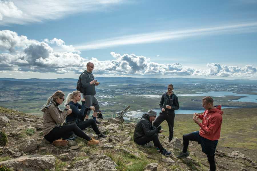 Reykjavik Outventure Guided Mt. Esja Hike from Reykjavík with Swimming, Food & Drinks