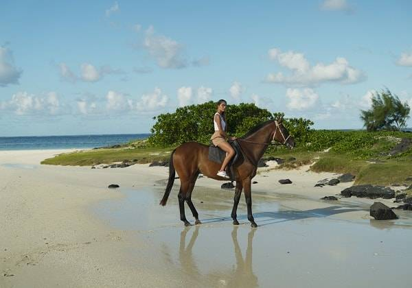 Horseback Beach Ride at Belle Mare