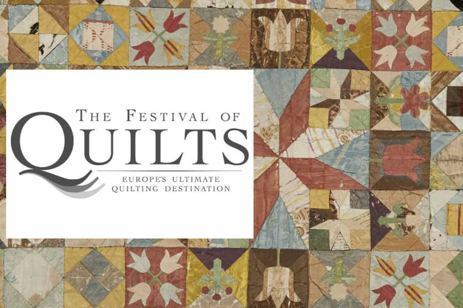 Oates Travel St Ives THE FESTIVAL OF QUILTS - NEC BIRMINGHAM - 10th August