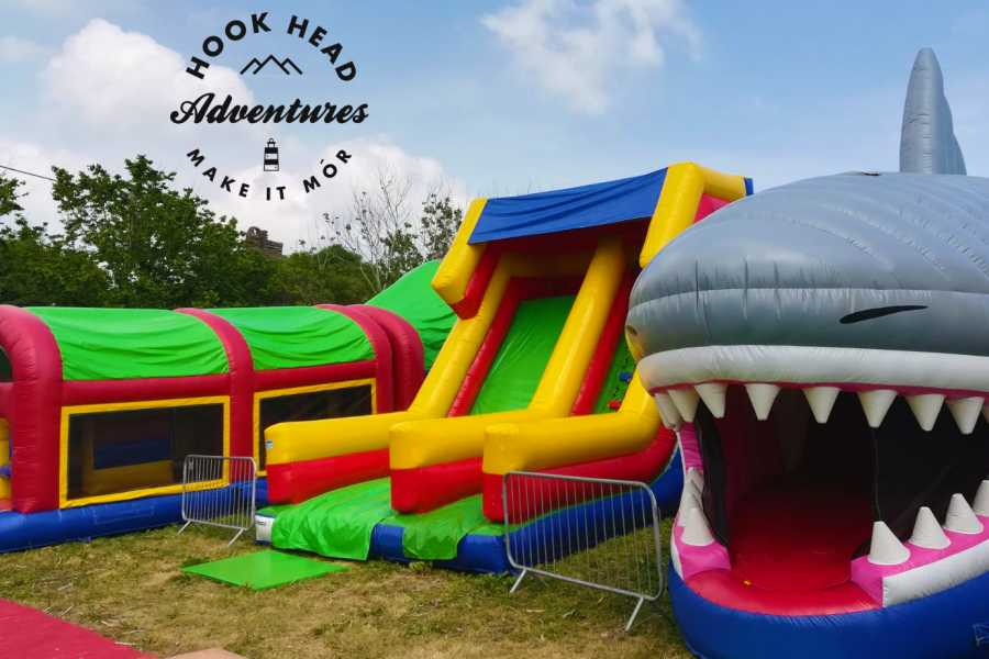 The Irish Experience Inflatable Adventure Zone