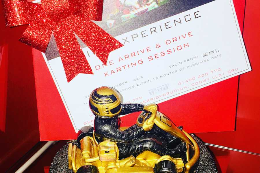 GYG Karting Ltd GIFT EXPERIENCE (PRINTED & POSTED)